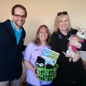 Congratulations to Jeannine at Blackberry Veterinary Center. http://www.blackberryvet.com/  She was the winner of the 98.5 KTIS Coffee Break with Pam and Andy from the KTIS Morning Show.