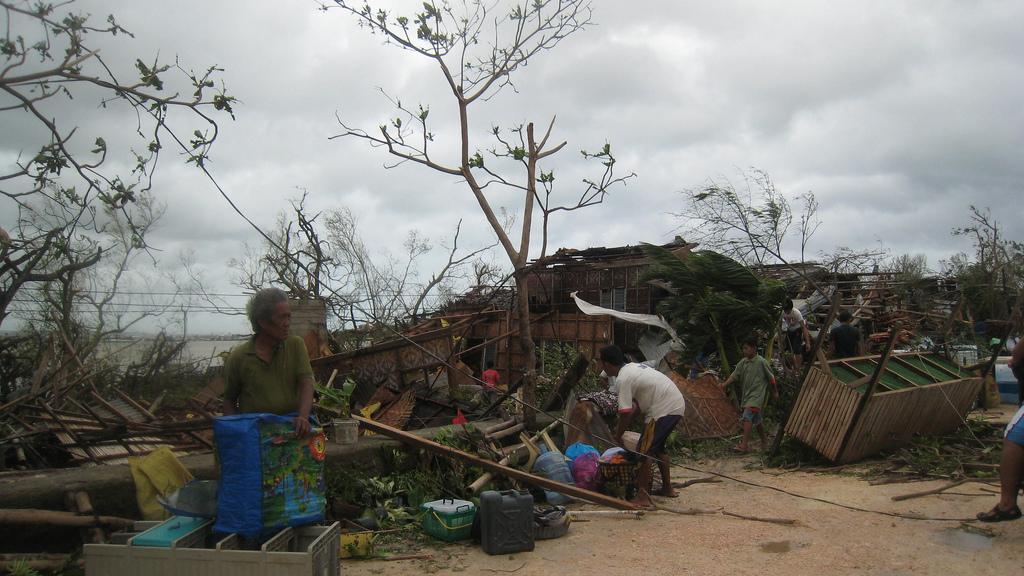 Typhoon Haiyab