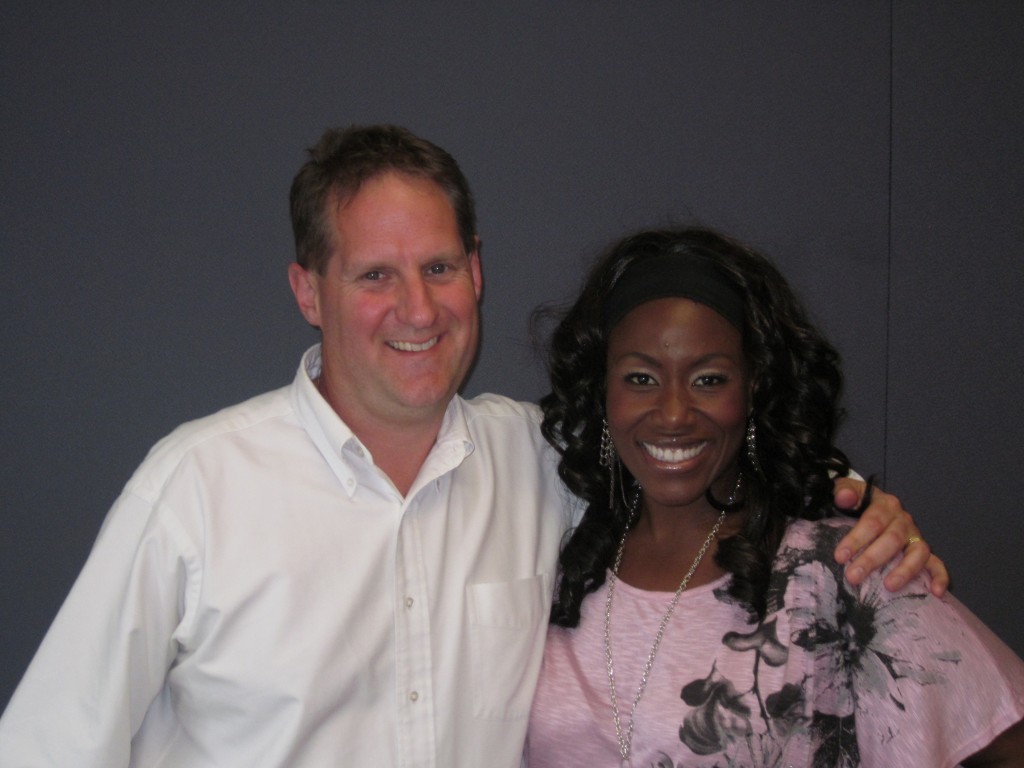 keith stevens and Mandisa 2