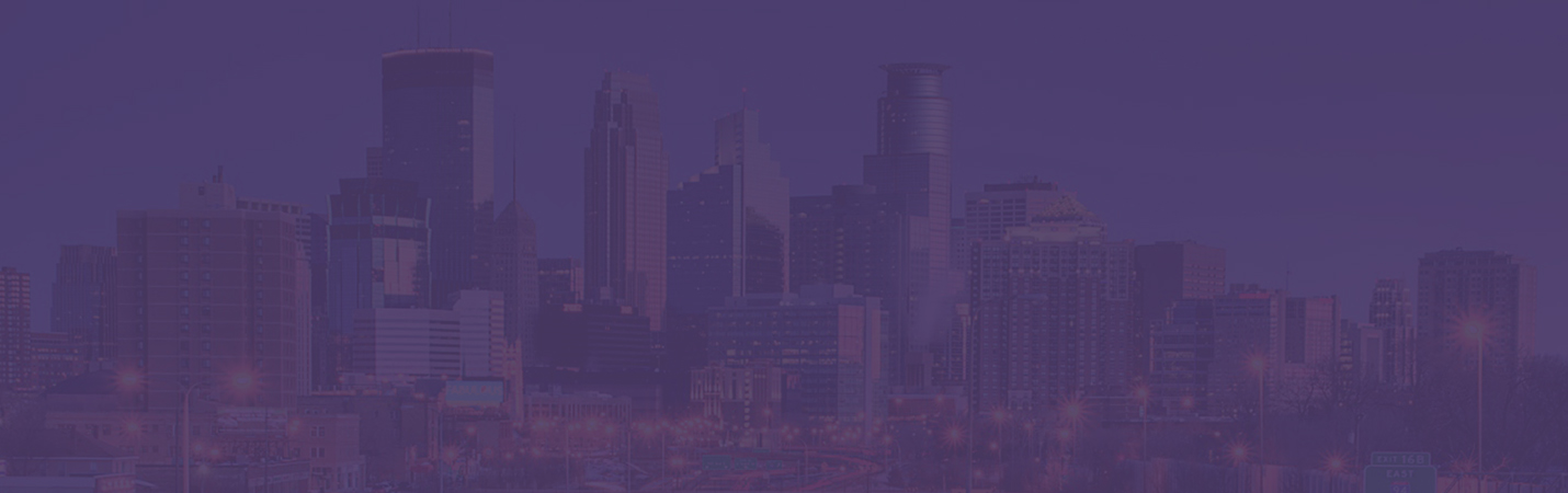 Minneapolis purple background