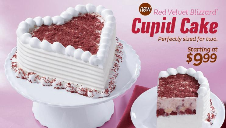 Dq Cake Valentine For Two