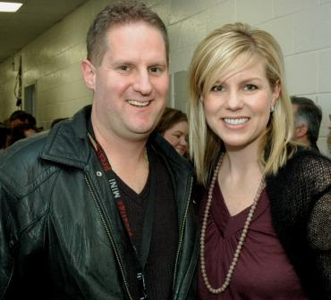 Keith Steven with Nichole Nordeman