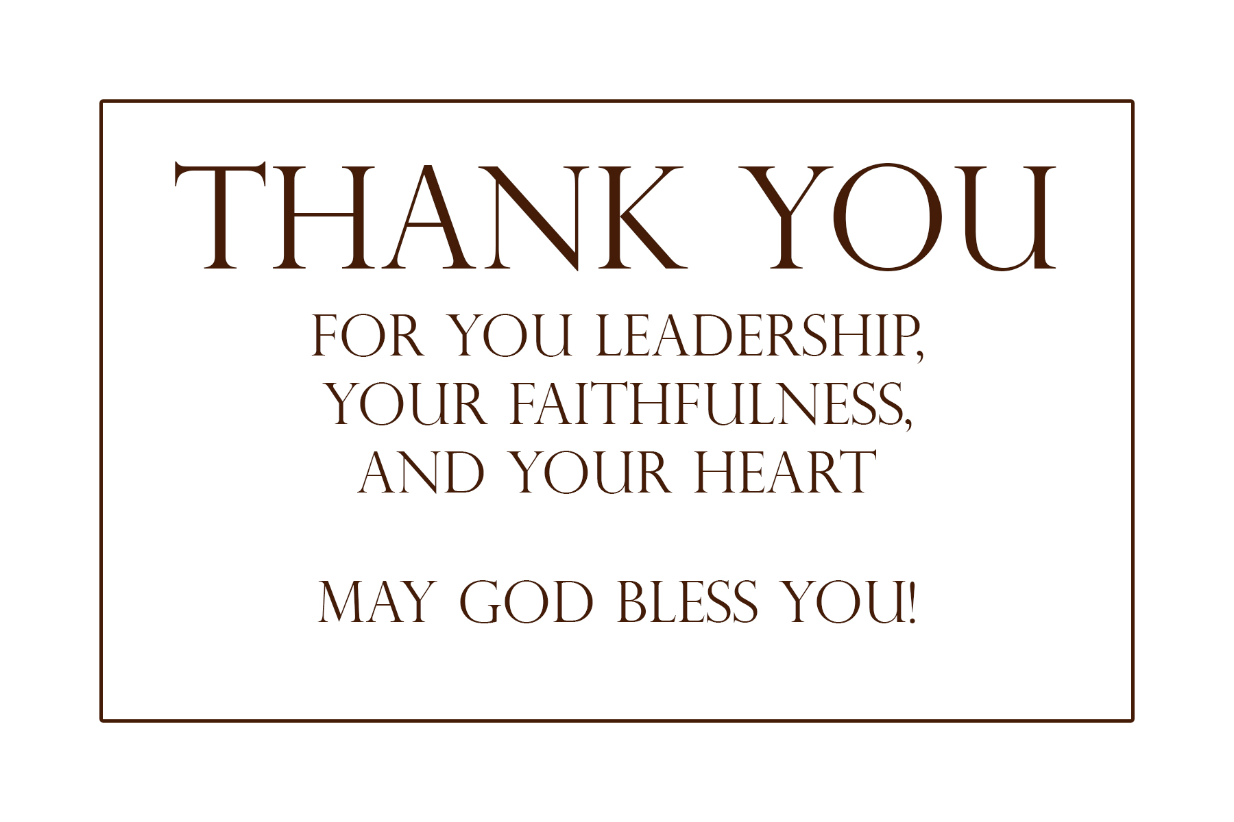 ... a card you can print, and 5 free ways you can encourage your pastor.