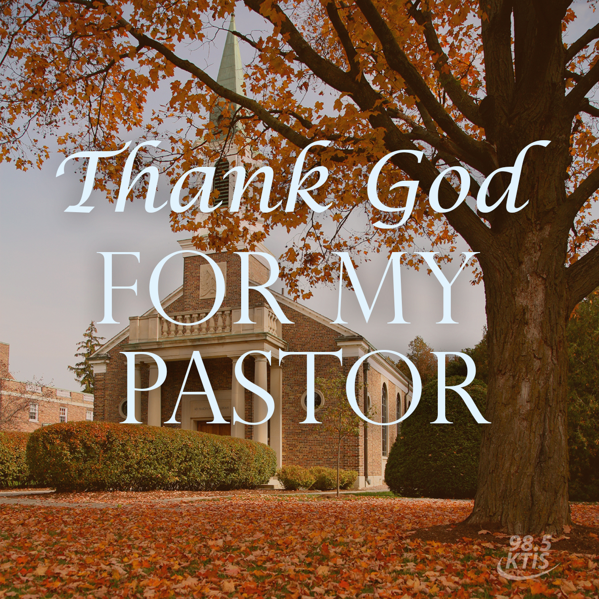 Pump Up Your Pastor 98 5 Ktis 98 5 Ktis
