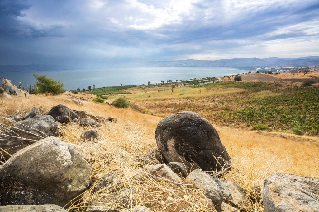 Galilee panorama taken from Mount of Beatitudes