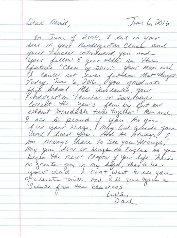 A letter to my graduate   98.5 KTIS 98.5 KTIS