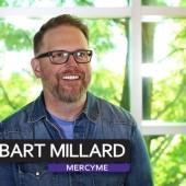 Bart Millard in the Artist Booth