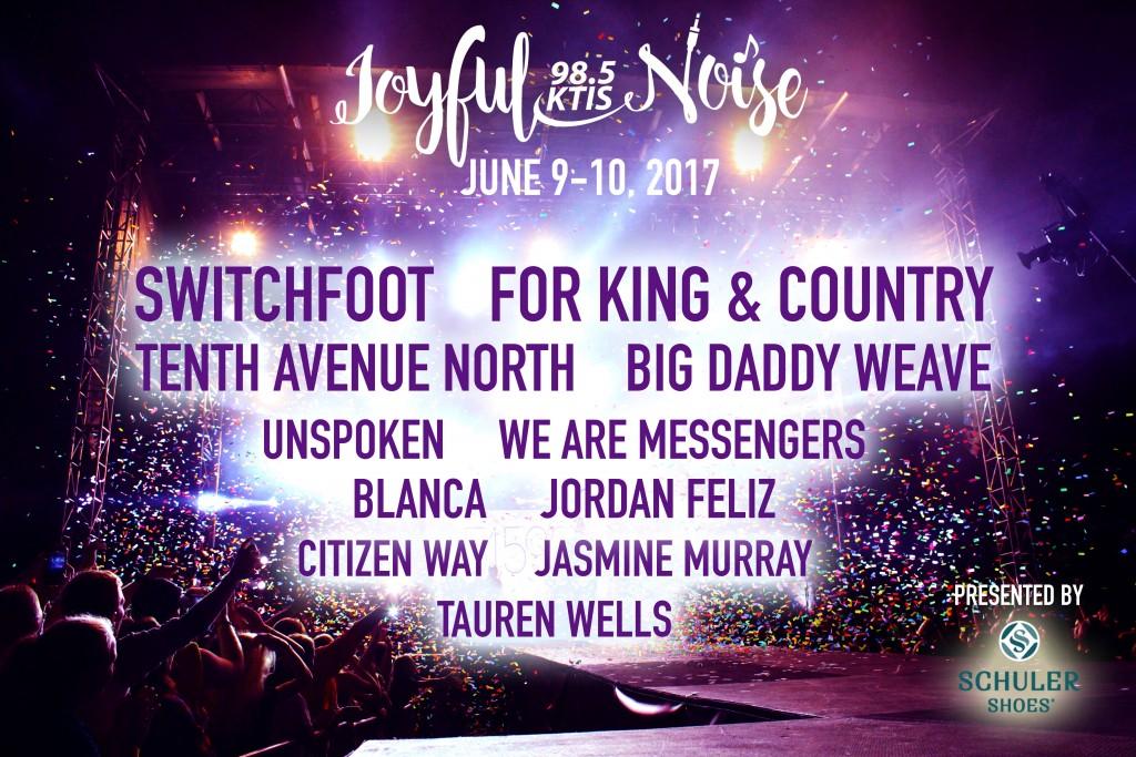 Final Joyful Noise Artist graphic