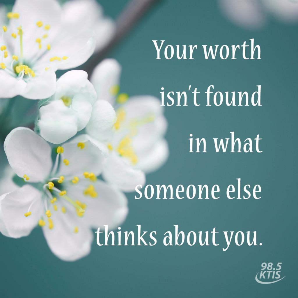 Your worth 2 postcard