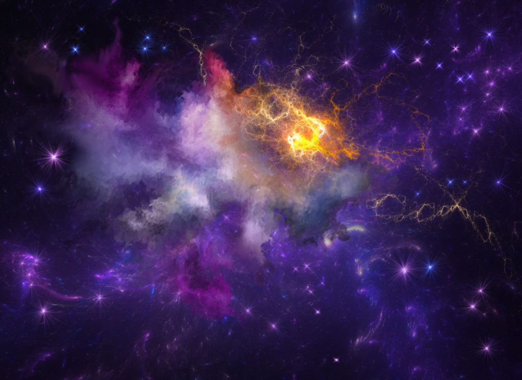 Extraterrestrial system nebula