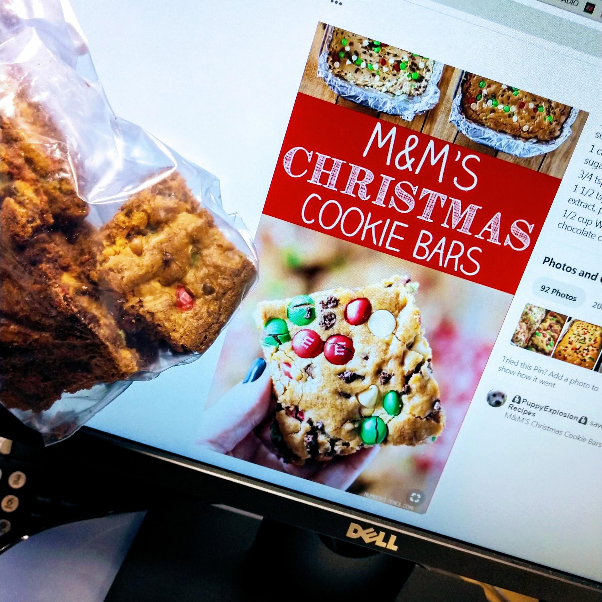 M M S Christmas Cookie Bars 98 5 Ktis 98 5 Ktis