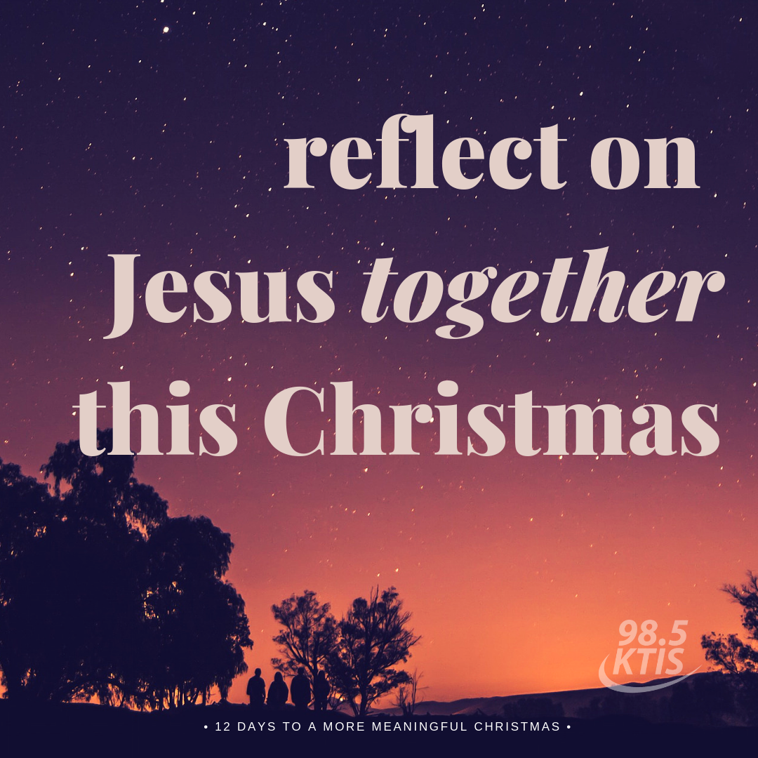 Reflect on Jesus together this Christmas
