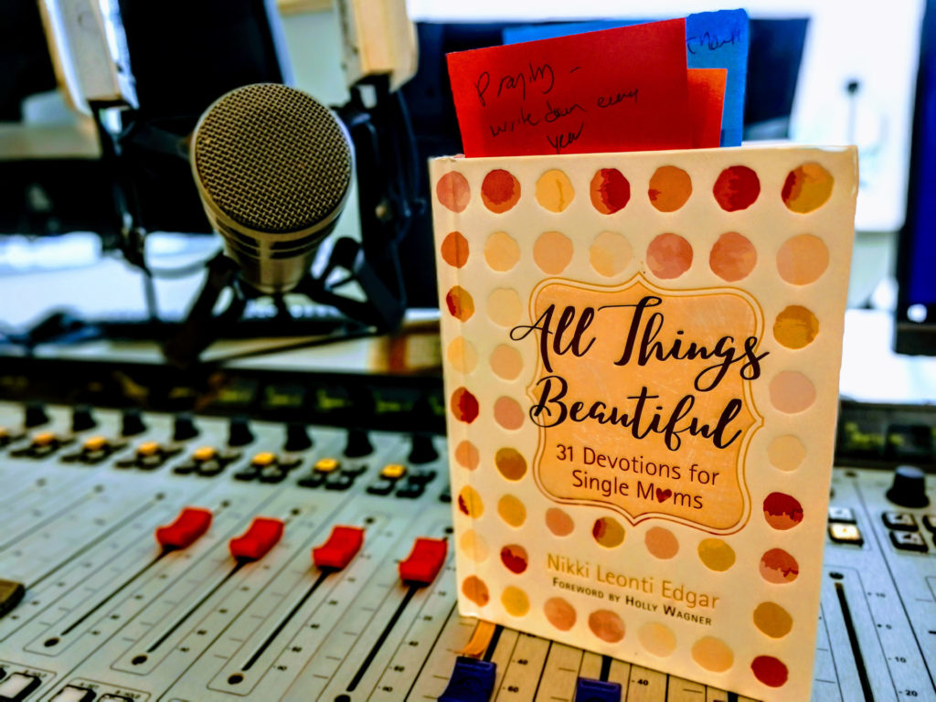 All things beautiful book on soundboard