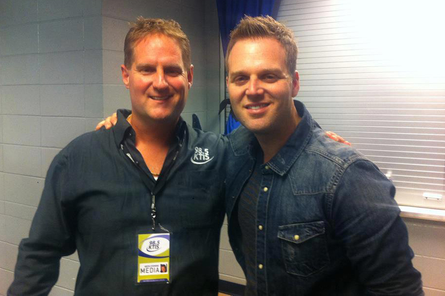 Keith Stevens and Matthew West
