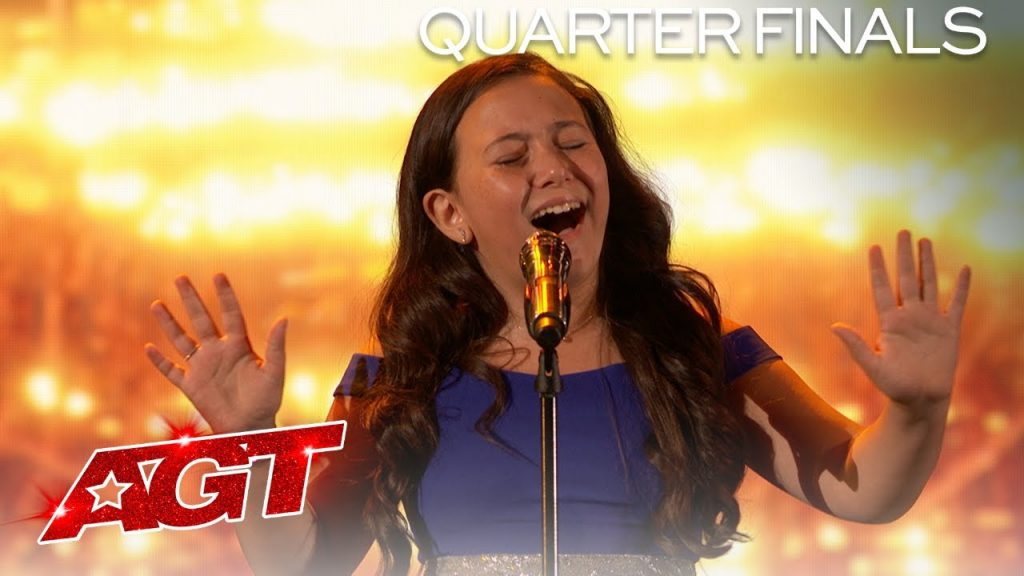 """A 10 year old sings """"You Say"""" on America's Got Talent – and crushes it!"""