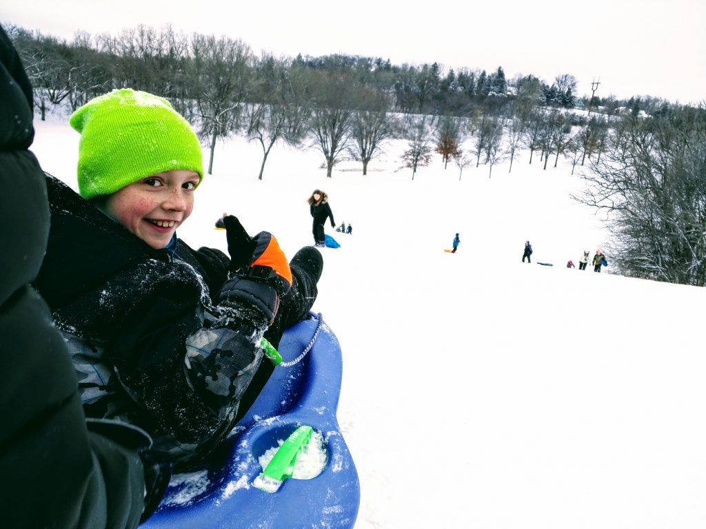 joe sledding hill