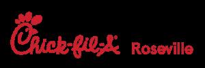The Chick-Fil-A logo for Roseville